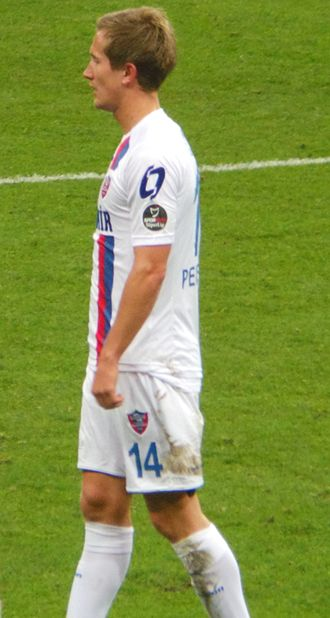 Morten Gamst Pedersen - Pedersen playing for Karabükspor in 2013