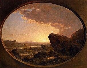 Moïse regardant la Terre promise