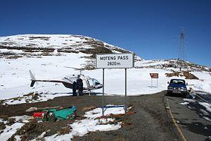 Moteng Pass - Top of Monteng Pass