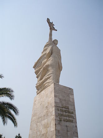 National personification - Image: Mother Albania Tirana 2