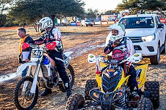 Rally raid - 2017 Kalahari 1000km Desert Race