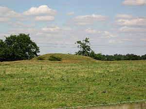 Burley, Rutland -  Mound at Alstoe, possibly a Norman motte