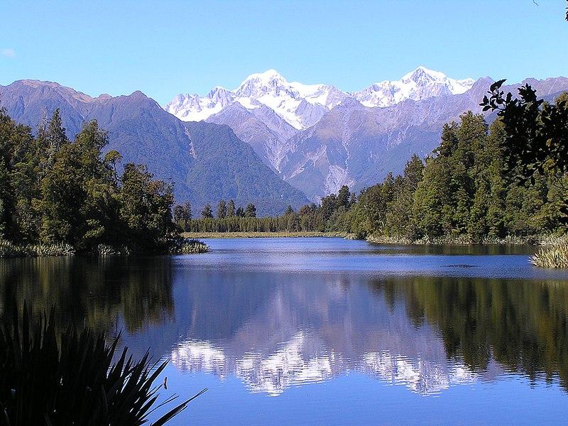 File:Mount Cook and Lake Matheson.jpg