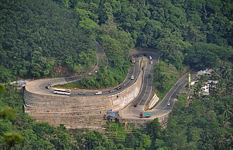 Transportation in Wayanad - Wayanad Ghat Road (Mountain Pass) on NH 766
