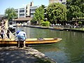 Moving a punt up to the Cam - geograph.org.uk - 1333599.jpg