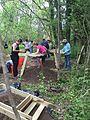 Moving dirt, Herring Run Park Archaeology (17538201046).jpg