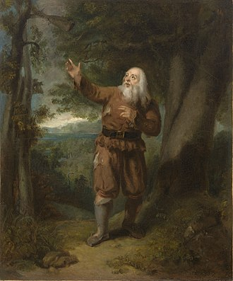 Dismissal of School on an October Afternoon - Image: Mr. Hackett, in the Character of Rip Van Winkle NPG 9600094A 2