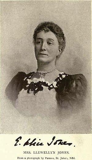Adams George Archibald - Mrs Elizabeth Alice Jones (née Archibald) by Parsons, St. John's, Nfld