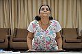 Mrs Manekar - Bhujangasana - International Day of Yoga Celebration - NCSM - Kolkata 2015-06-21 7393.JPG