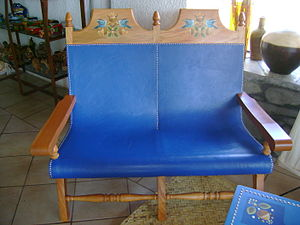 Colima - Example of Rangeliano style furniture