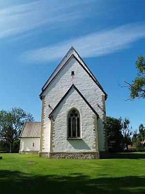 Muhu St. Catherine's Church - Image: Muhu Katariina kirik