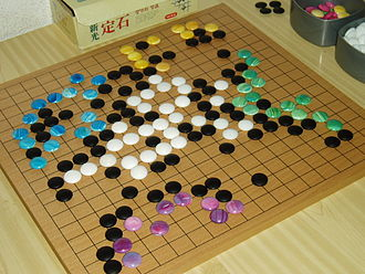 Go variants - A game of Go with stones of different colors