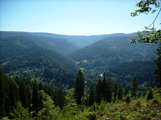 <i>Mittelgebirge</i> low mountain range, mostly in Central Europe