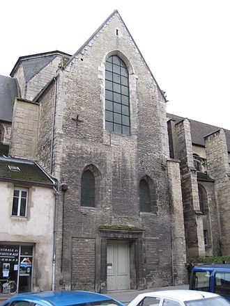 Musée Rude - Musée François Rude in the transept and the choir of the Église Saint-Étienne of Dijon