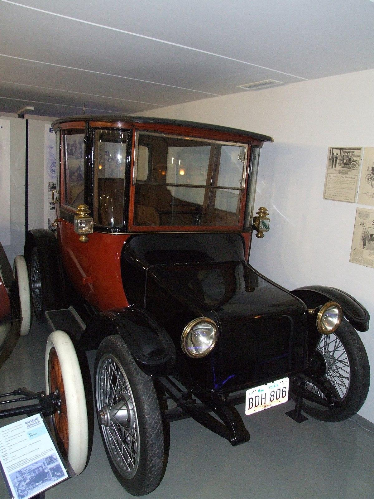 Detroit Electric Car Company Wikipedia