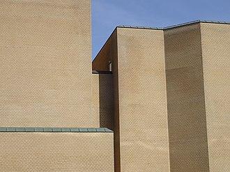Musikhuset Aarhus - Image: Musikhuset (detalje) 01