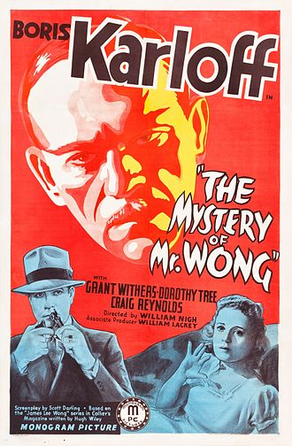 The Mystery of Mr. Wong - Film poster