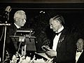 N.H. Swellengrebel receiving the Laveran Prize from Rolla Dy Wellcome V0028083.jpg