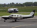 N957T Piper Saratoga 32 (27156966515).jpg