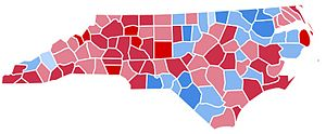 United States presidential election in North Carolina, 1988