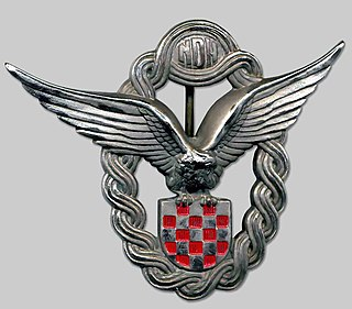 Croatian Air Force (Independent State of Croatia) 1941-1945 air warfare branch of Croatias military