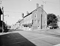 NORTH MAIN STREET, EAST SIDE, LOOKING NORTHEAST FROM BELOW THE DOLD BUILDING (1 NORTH MAIN STREET) - Main Street Area Survey, Lexington, Lexington, VA.jpg