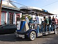 NO Fringe Parade 2011 Franklin Avenue Tour Cycle Bus.JPG