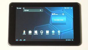 LG Optimus Pad - The LG Optimus Pad V900