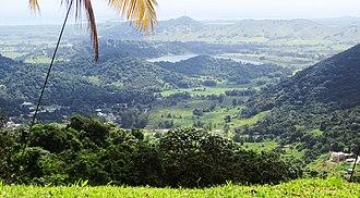 Naguabo, Puerto Rico - Image: Naguabo Rio Blanco offstream reservoir IMG 1682