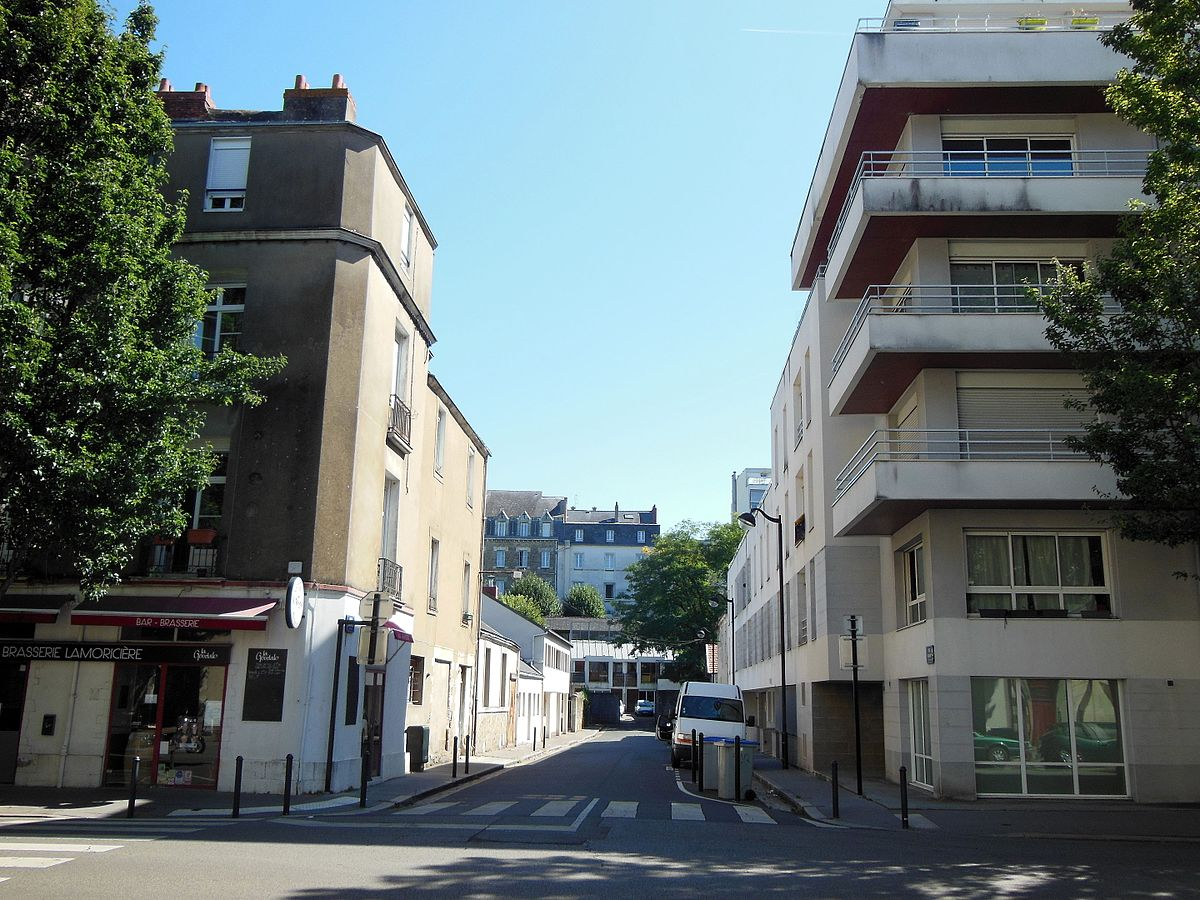 rue de bayard nantes wikip dia. Black Bedroom Furniture Sets. Home Design Ideas