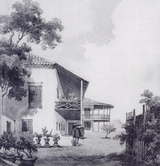 William Napier, 9th Lord Napier - Lord Napier's house in Macau