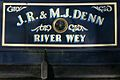 Narrowboat On Wey Navigation Send Surrey UK.jpg