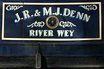 Narrowboat On Wey Navigation Send Surrey UK.jpg