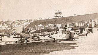 Narsarsuaq Air Base - Narsarssuak Air Base 1956