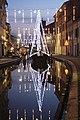 Natale a Comacchio, nave illuminata sul Canale Maggiore - panoramio.jpg