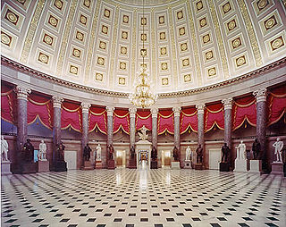 National Statuary Hall Collection Collection of statues in the US Capitol of notable individuals from each state
