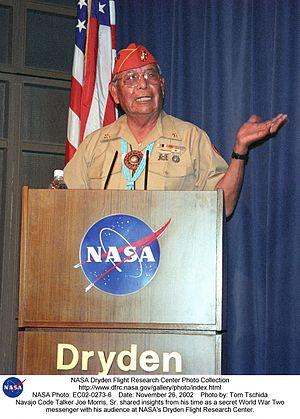 Joe Morris Sr. - Morris in 2002.