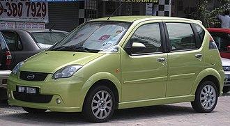 Naza Automotive Manufacturing - Image: Naza Sutera (first generation) (front), Serdang