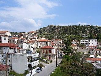 Nea Epidavros - View of Nea Epidavros and its castle