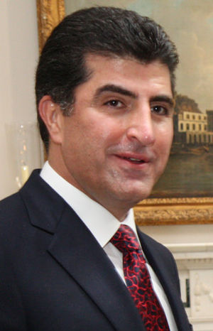 Prime Minister of Iraqi Kurdistan - Image: Nechervan Barzani May 2014 (cropped)