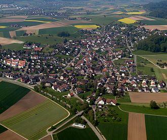 Neerach - Aerial view of Neerach