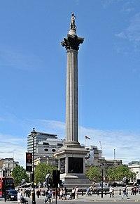 Nelson's Column, Trafalgar Square, London.JPG