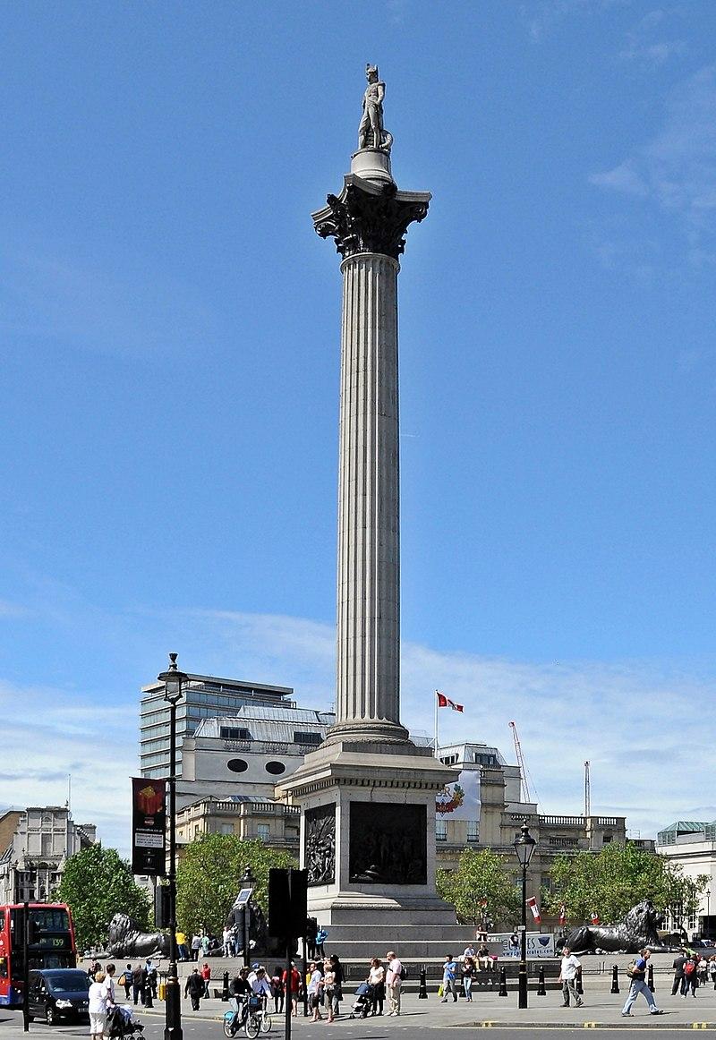 "Leamos, pues, el ""Ulises"" de James Joyce - Página 5 800px-Nelson%27s_Column%2C_Trafalgar_Square%2C_London"