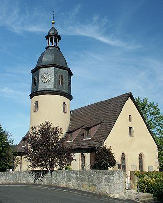 Nentershausen, Hesse - Church in Nentershausen