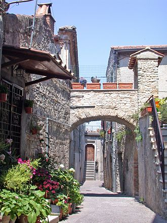 Nerola - Historical center of Nerola.
