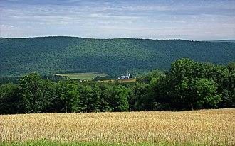 Main Township, Columbia County, Pennsylvania - Nescopeck Mountain in Main Township