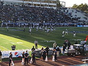 Nevada Wolf Pack vs. Brigham Young Cougars, Mackay Stadium, University of Nevada, Reno, Nevada (11142417086).jpg