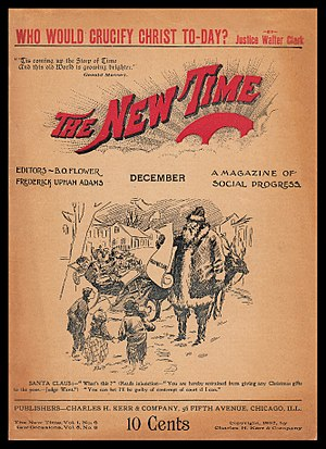 B. O. Flower - Flower briefly served as co-editor of the social reform magazine The New Time until its demise in 1898.