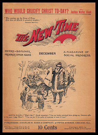 Charles H. Kerr Publishing Company - Image: New Time cover Dec 1897