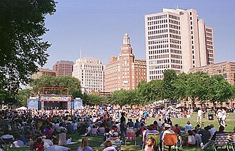 New Haven Green - The Green is a popular venue for festivals